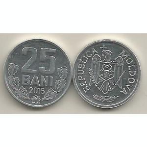 MOLDOVA  25  BANI  2015  [01]  UNC