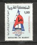 Maroc.1978 C.M.de yachting  MM.303, Nestampilat