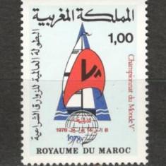 Maroc.1978 C.M.de yachting MM.303 - Timbre straine, Nestampilat
