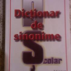 DICTIONAR DE SINONIME, SCOLAR. - Dictionar sinonime