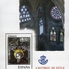 Spania 2005 - Vitralii, Catedrala Avila, colita neuzata