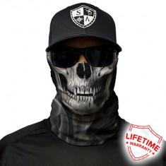 Bandana/Face Shield/Cagula/Esarfa - Skull Tech | Crow, made in USA, Marime: Masura unica, Culoare: Din imagine