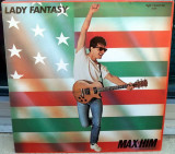 Max-Him - Lady Fantasy (1986, ZYX) disc vinil Maxi Single hit italo-disco