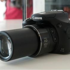 Aparat Foto Canon Powershot Sx60 Hs 16 Mpx Zoom Optic 65x Wifi Negru
