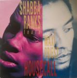 Shabba Ranks feat. Maxi Priest - Housecall 1991 disc vinil Maxi Single reggae