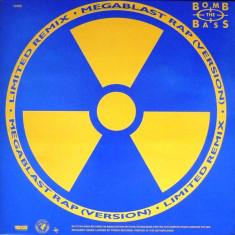 Bomb The Bass - Megablast / Don't Make Me Wait disc vinil Maxi Single Hip Hop - Muzica Hip Hop