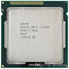 Procesor Sandy Bridge I5 2500S quad core, 2.7Ghz/Turbo 3.7Ghz, 6Mb, 65W, sk 1155 - Procesor PC Intel, Intel, Intel Core i5, Numar nuclee: 4, Peste 3.0 GHz