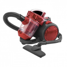 Aspirator Sapir, 2 L, 1200 w, filtrare multi ciclonica, filtru plastic, rosu