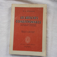 Les reflexes Conditionnels - A. Kreindler - Carte Psihiatrie