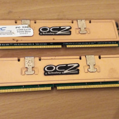 KIT MEMORIE 2 X 512MB OCZ - Memorie RAM Ocz, DDR, 1 GB, 400 mhz, Dual channel