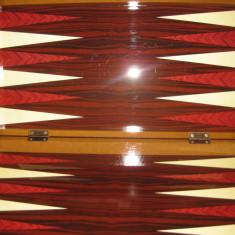 Joc table zar zaruri pul puluri joc table de lux cutie lemn lacuit - Set table