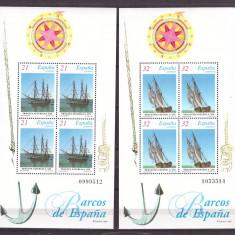 Spania 1997 - Nave de epoca, blocuri neuzate