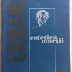 MIHAI MIRCEA CIOBANU-ESTETICA MORTII,1995(pref.ALEX. STEFANESCU/18 desene autor)