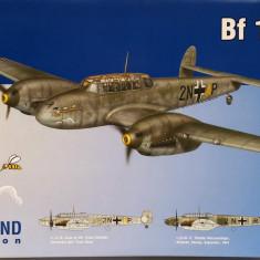 Macheta avion Messerschmitt Bf 110C - Eduard 7426, scara 1:72