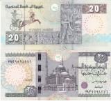 Egipt 20 Pounds 2016, UNC