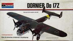 Macheta avion Dornier Do 17Z - Monogram 6842, scara 1:72 VINTAGE foto