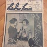 Revista Radio-  Radiofonia - anul 1933-No 239-numarul special de Pasti