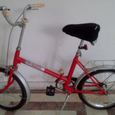 Pegas Practic Dama 80' - Bicicleta pliabila, 10 inch, 20 inch, Numar viteze: 1