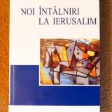 NOI INTALNIRI LA IERUSALIM - Costel Safirman, Leon Volovici (Editura ICR, 2007)