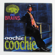 MC Brains - Oochie Coochie (1992, Motown) disc vinil Maxi Single Hip Hop / rap - Muzica Hip Hop