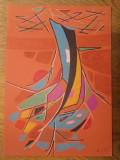 ELENA CRISTEA , TEHNICA MIXTA- VIBRATIA FORMELOR, 9, Abstract, Pastel