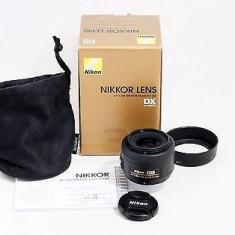 Obiectiv Nikon 35mm F/1.8G AF-S DX - Obiectiv DSLR