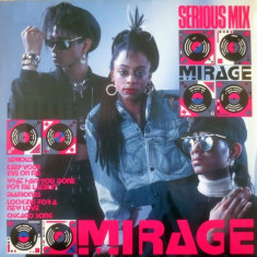 Mirage - Serious Mix (1987, BCM) disc vinil Maxi Single House, Electro