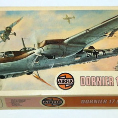 Macheta avion Dornier Do 17E/F - Airfix 04014-1, scara 1:72 VINTAGE