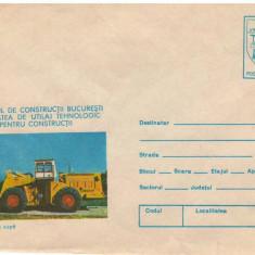 IP 9965 INTREG POSTAL - INSTITUTUL DE CONSTRUCTII BUCURESTI. INCARCATOR CU CUPA