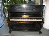 Germania - Pianina Ziemmermann - Placa bronz-clape fildes - 1901 - serie 65373