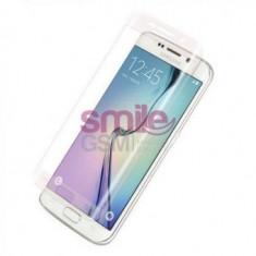 Folie protectie sticla securizata CURBATA ecran Samsung S6 Edge +