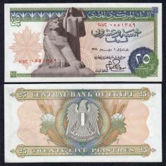 EGIPT. 25 PIASTRES 1978. UNC. - bancnota africa