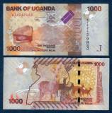 UGANDA. 1000 SHILLINGS 2010. AUNC.