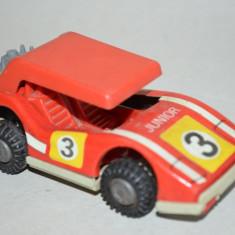 Masinuta veche de tabla RDG cu frictiune Raliu, Junior, GT - Jucarie de colectie