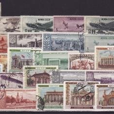 600 - Lot timbre Rusia(URSS) inainte de 1960