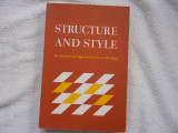 Structure and style - an analytical approach to prose writing - W. Sheridan