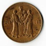 20 lei 1930 Hora KN