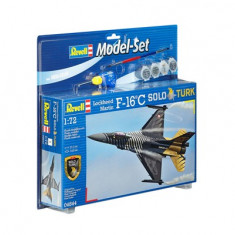 Model Set F-16 C Solo Tãœrk - Revell 64844 - Avion de jucarie