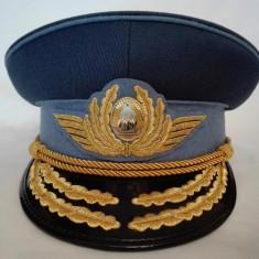 Cascheta, sapca, chipiu general aviatie RSR, pilot aviator