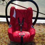 Hauck Red scoica / scaun copii auto (0-13 kg) - Scaun auto copii Hauck, 0+ (0-13 kg), Opus directiei de mers