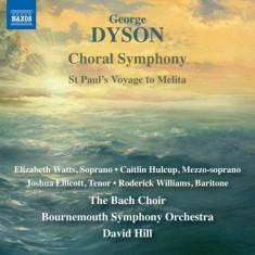 G. Dyson - Choral Symphony ( 1 CD ) - Muzica Clasica