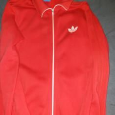 Bluza treninig Adidas marimea L, culoarea rosie. este in stare foarte bune. - Trening barbati Adidas, Marime: L, Culoare: Rosu