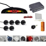 Senzori parcare fata spate set 6 senzori afisaj diplay LED avertizare sonora kit