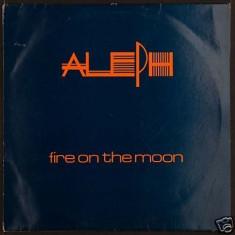 Aleph - Fire on the moon (1987, Streetheat) disc vinil Maxi Single italo-disco - Muzica Dance