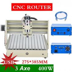CNC Router, 3 axe, seria 3040T - Masina de frezat, >36