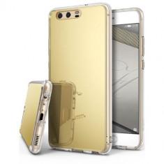 Husa Huawei P8 Lite / P9 Lite 2017 Fashion Mirror Gold