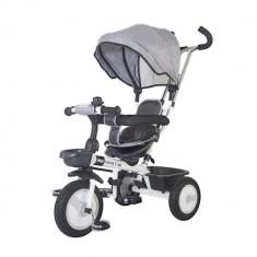 Tricicleta multifunctionala MamaLove Rider Gri DHS - Tricicleta copii