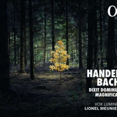 Handel/Bach - Dixit Dominus/Magnificat ( 1 CD ) - Muzica Clasica