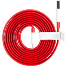 Cablu de date OnePlus 187873 Dash Type C 1.5m Rosu