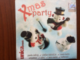 Unica music xmas party compilatie cd disc muzica pop sarbatori nova music 2005, nova music